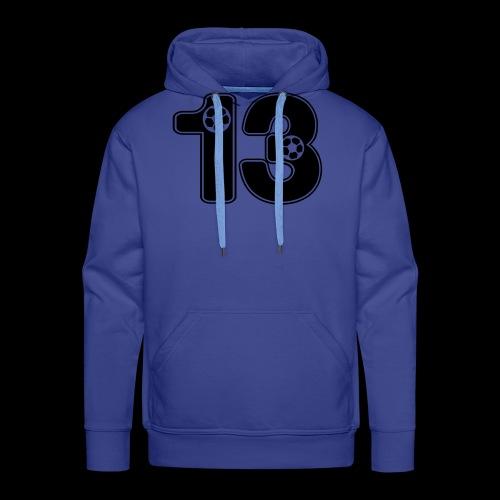 foot numero 13 - Men's Premium Hoodie