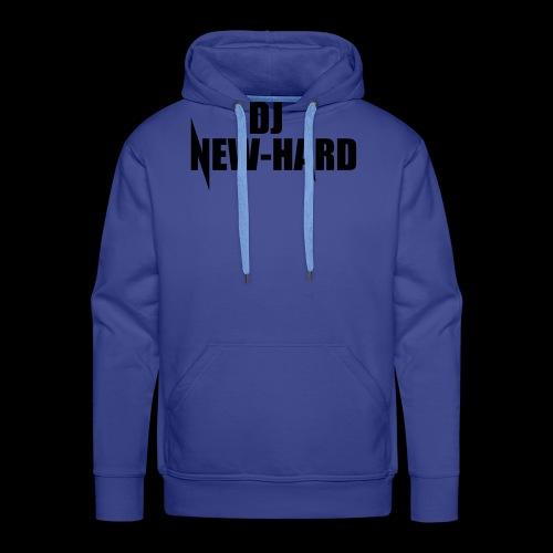 DJ NEW-HARD LOGO - Mannen Premium hoodie