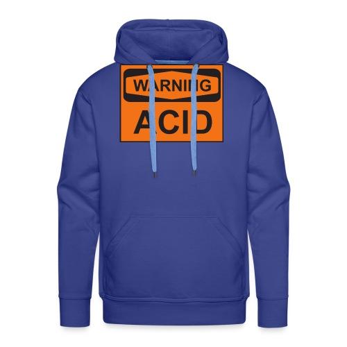 Warning Acid - Männer Premium Hoodie