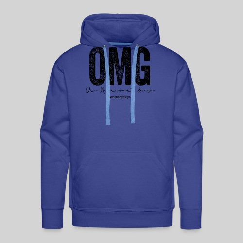 OMG - One Magnificent Goalie - Männer Premium Hoodie