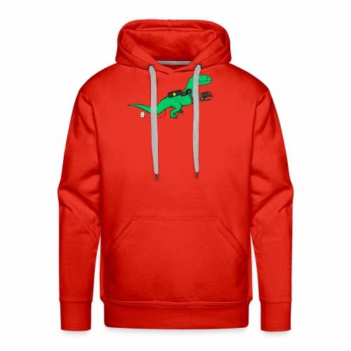 cyborgsaurusprint - Mannen Premium hoodie