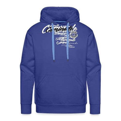 motif_caminade_trash4.png - Sweat-shirt à capuche Premium pour hommes
