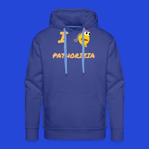 Love Pathorizia - Felpa con cappuccio premium da uomo