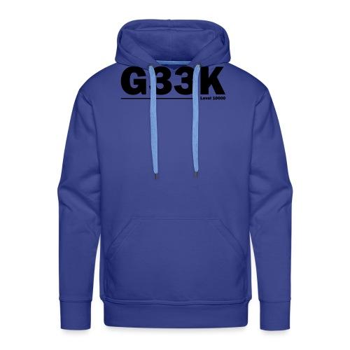 G33K - Herre Premium hættetrøje