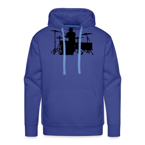Glatze Drummer on Greater Set - Männer Premium Hoodie