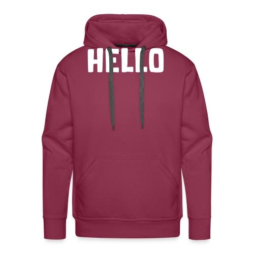 Hello #1 - Männer Premium Hoodie