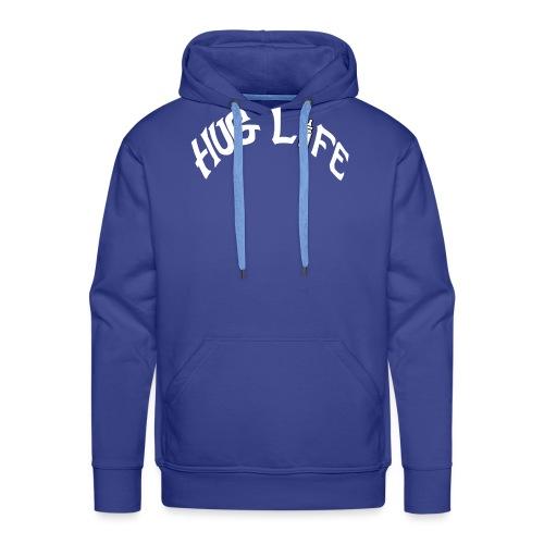 White Hug Life - Men's Premium Hoodie