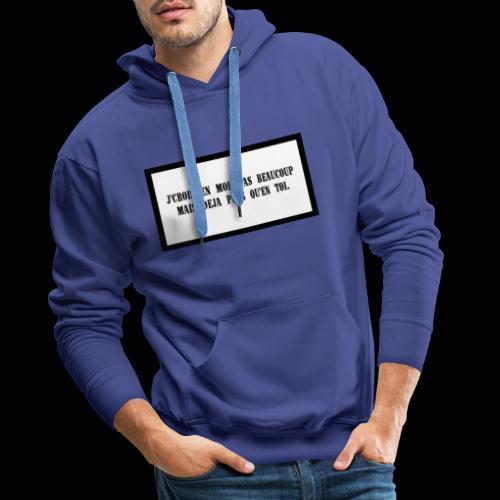 TOI - Sweat-shirt à capuche Premium pour hommes