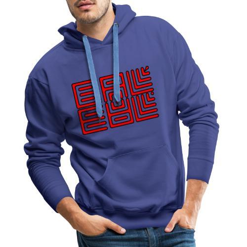 baleal red serie - Sweat-shirt à capuche Premium pour hommes