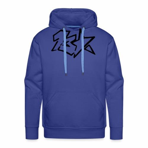 13star logo - Sweat-shirt à capuche Premium pour hommes