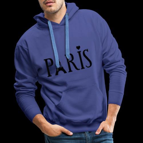 Paris - Männer Premium Hoodie