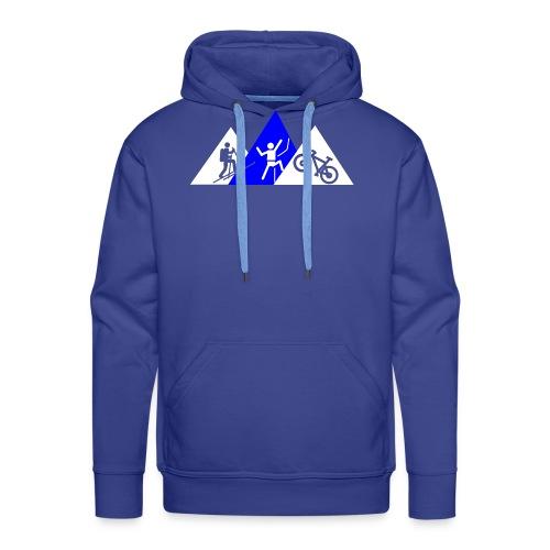 Berg-Triathlon - Männer Premium Hoodie