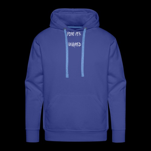 Forever Unwanted White Colourway - Men's Premium Hoodie