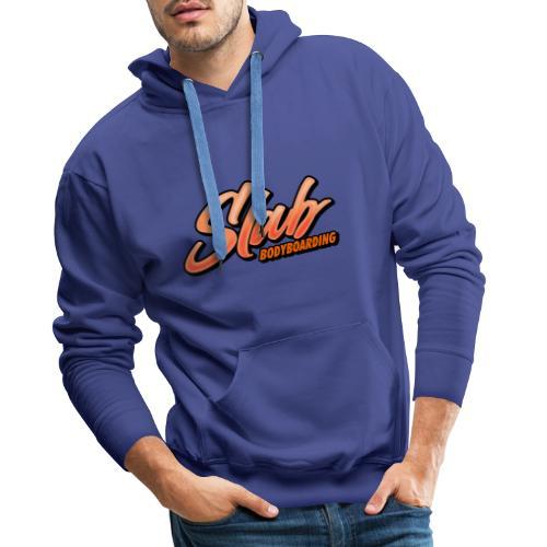 MS Slab Logo - Men's Premium Hoodie
