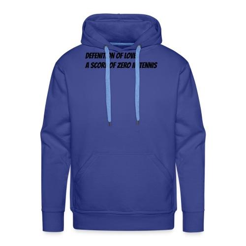 Tennis Love sweater men - Mannen Premium hoodie