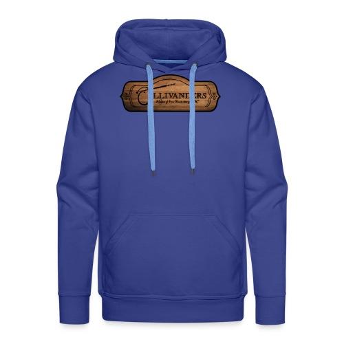 ollivanders sign - Sweat-shirt à capuche Premium pour hommes