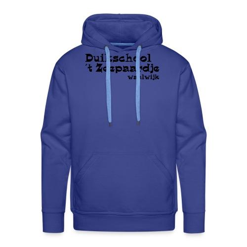 tekst onder elkaar - Mannen Premium hoodie