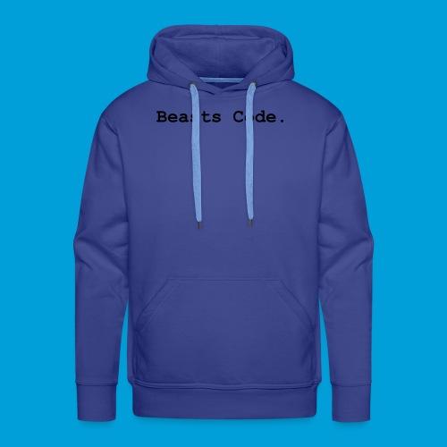 Beasts Code. - Men's Premium Hoodie