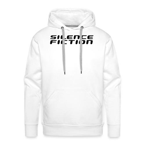 silence fiction - Sweat-shirt à capuche Premium pour hommes