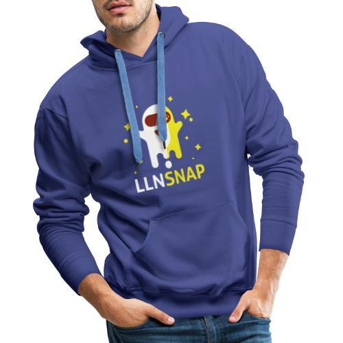 Fantôme astronaute (LLNsnap) - Sweat-shirt à capuche Premium pour hommes