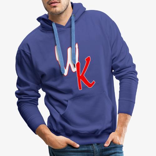 WK - Bluza męska Premium z kapturem