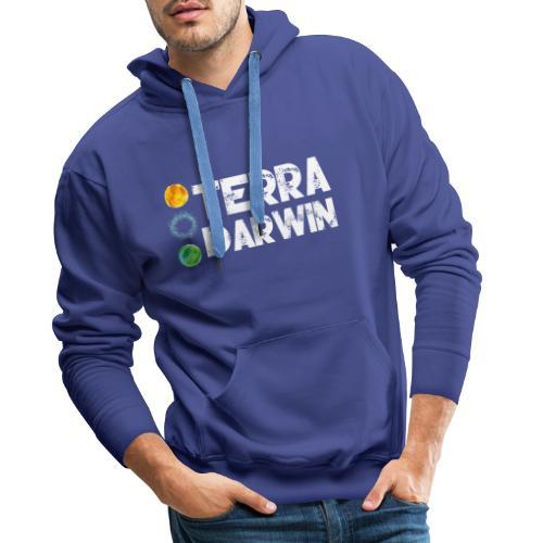 Terra Darwin - Sweat-shirt à capuche Premium pour hommes