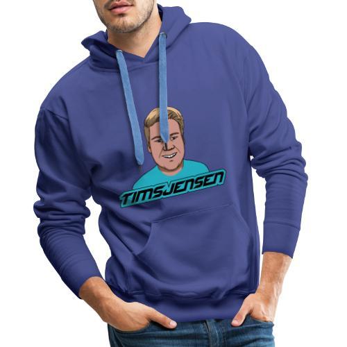 TimsJensen - Herre Premium hættetrøje