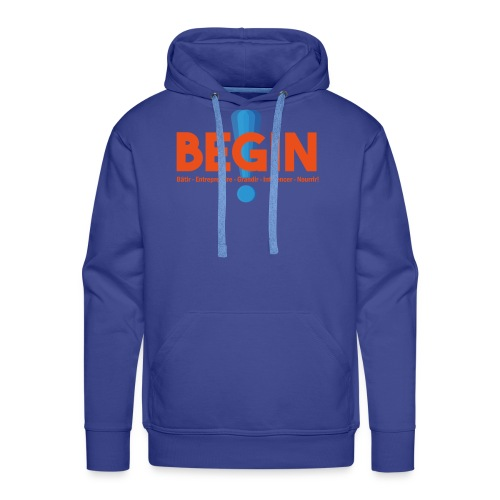 the begin project - Sweat-shirt à capuche Premium pour hommes