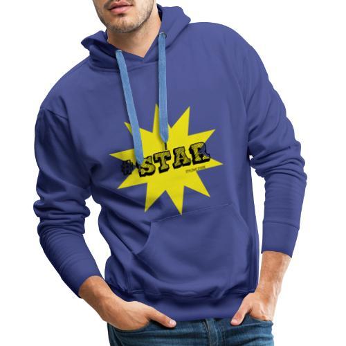 #STAR #1 - Bluza męska Premium z kapturem