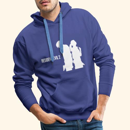RE2 Leon Claire Logo Design - Men's Premium Hoodie