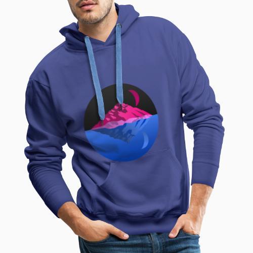 Bisex mountains - Men's Premium Hoodie
