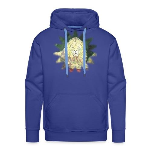 Lion star - Bluza męska Premium z kapturem