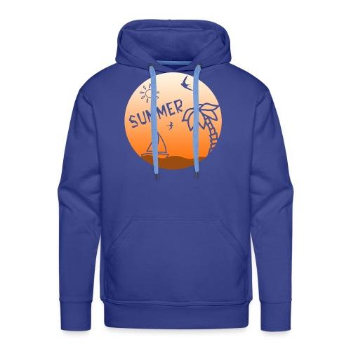 Summer - Miesten premium-huppari