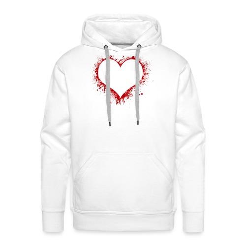 Herz/Heart - Männer Premium Hoodie