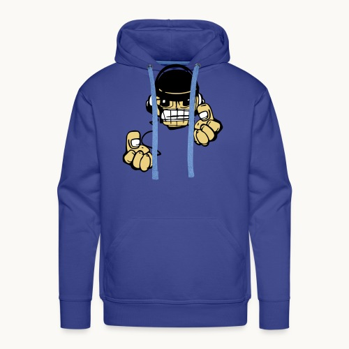 Micky DJ - Sweat-shirt à capuche Premium pour hommes
