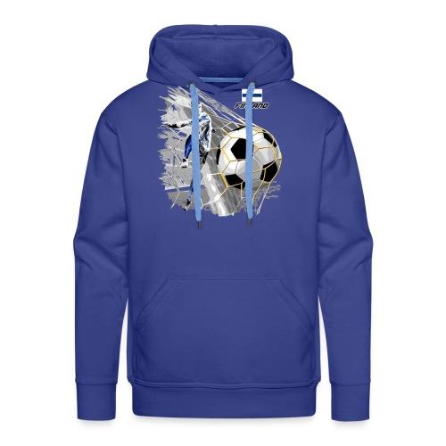FINLAND FOOTBALL SOCCER PLAY T SHIRTS, GIFTS etc. - Miesten premium-huppari
