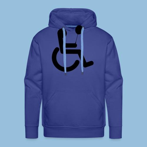 Baloonwheelchair2 - Mannen Premium hoodie