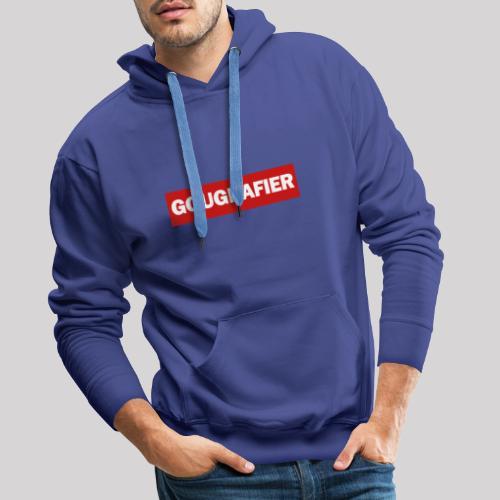 Gougnafier - Sweat-shirt à capuche Premium pour hommes
