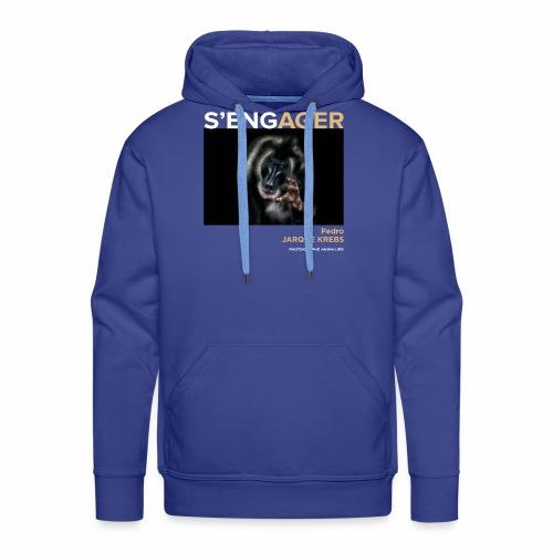 1 Achat = 1 Don à l'association Rainfer - Sweat-shirt à capuche Premium pour hommes
