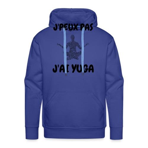 jpeux pas jai yuga - Sweat-shirt à capuche Premium pour hommes