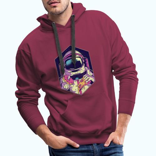 Fast food astronaut - Men's Premium Hoodie