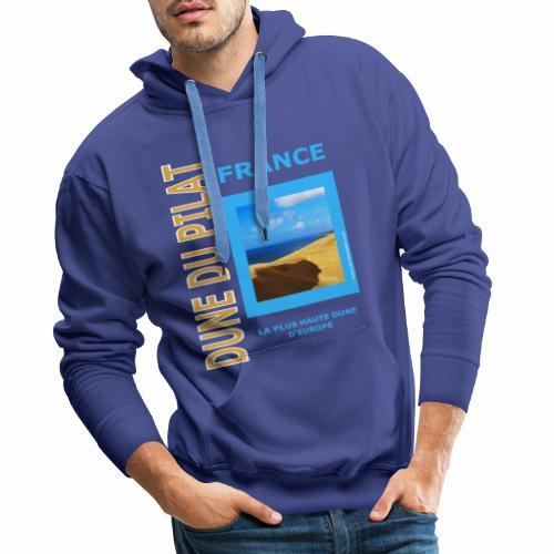 Dune du Pilat - Tshirt, tasses, masque ... - Sweat-shirt à capuche Premium pour hommes