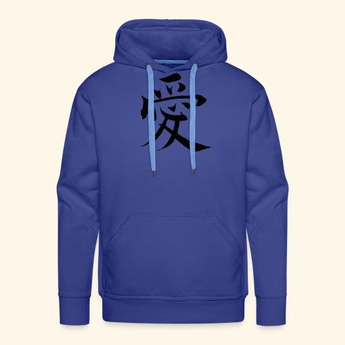 love china - Bluza męska Premium z kapturem
