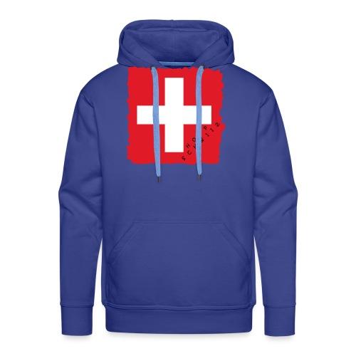 Schweiz 21.1 - Männer Premium Hoodie