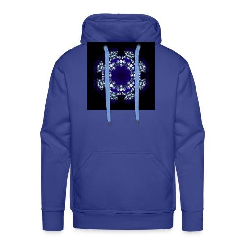 Mandala Diamante - Sudadera con capucha premium para hombre