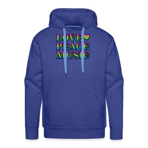 Love Peace Music - Men's Premium Hoodie