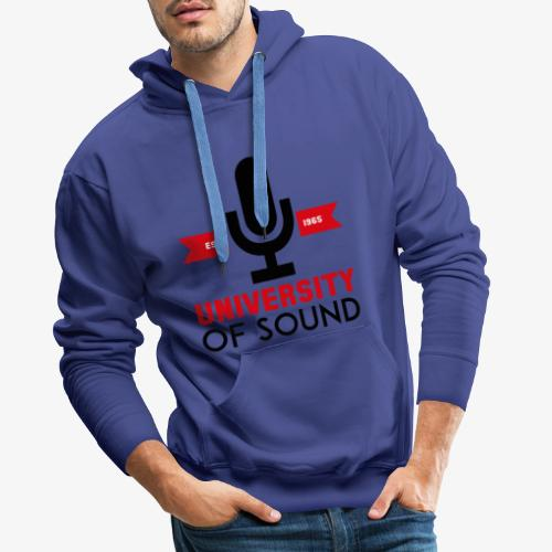 University 4 - Sudadera con capucha premium para hombre