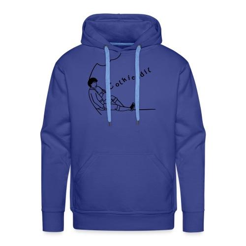 hobbit tolkiendil - Sweat-shirt à capuche Premium pour hommes