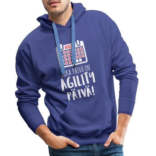 Joka Päivä Agility - Miesten premium-huppari