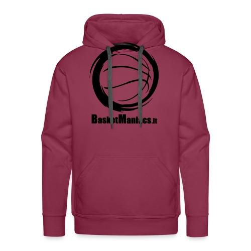 Basket Maniacs - Felpa con cappuccio premium da uomo